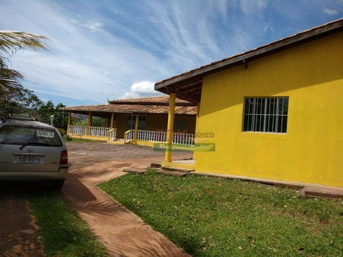 Chácara Com 2 Dormitórios À Venda, 2080 M² Por R$ 371.000,00 - Goiabal - Pindamonhangaba/sp - Ch0245