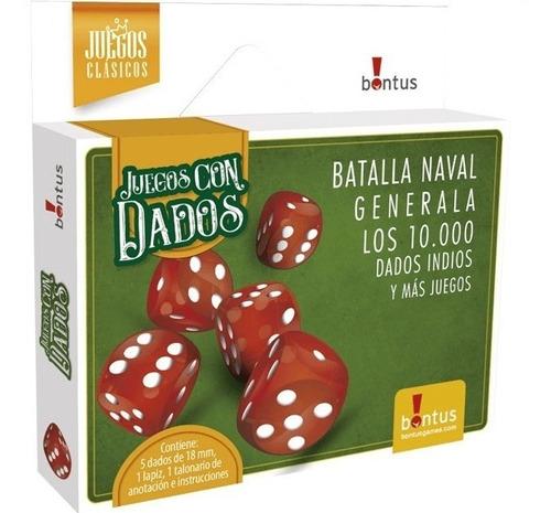 Imagen 1 de 4 de Juegos De Mesa Con Dados Bontus 634