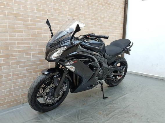 Kawasaki Ninja 650r Preta 2013