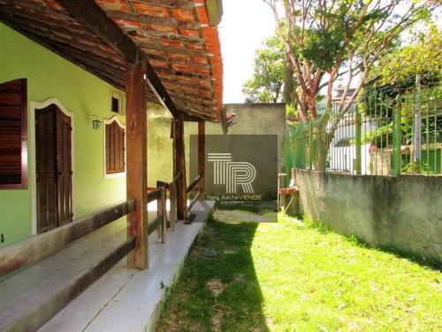 Imagem 1 de 19 de Investimento Casa 3 Quartos, 4 Vagas, 490m² De Terreno - Charitas - Ca0051