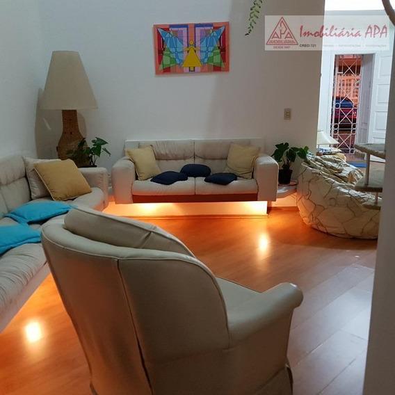 Sobrado Com 3 Dormitórios À Venda, 220 M² Por R$ 1.280.000 - Santa Cecília - São Paulo/sp - So0027