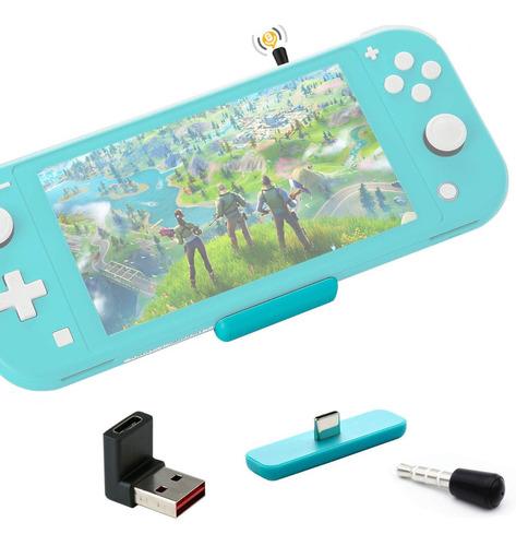 Route Air Adaptador Bluetooth Audio Nintendo Switch Mic Ps4