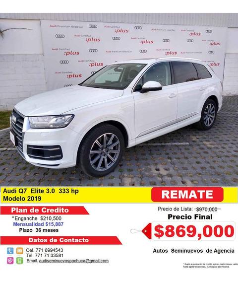 Audi Q7 2019 5p Elite V6/3.0/t Aut