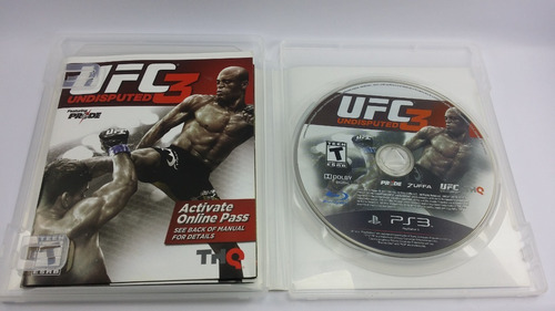 Ufc 3 Pride Playstation 3 Semi Novo Mídia Física Ps3 Sony