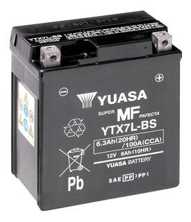Bateria Para Moto Yuasa Mod. Ytx7l-bs