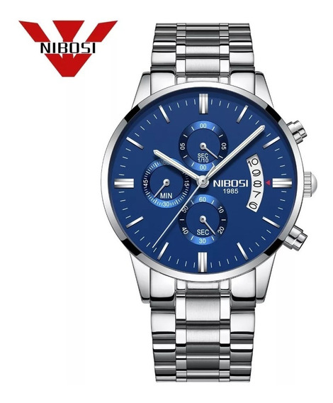 Relógio Masculino Nibosi 2309 Funcional A Pronta Entrega
