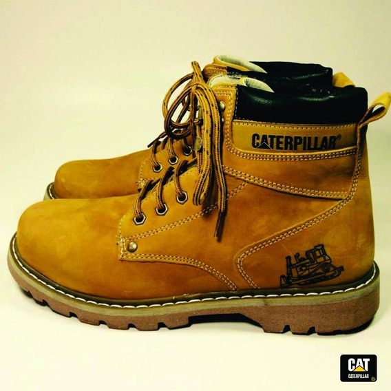 Bota Coturno Caterpillar Men´s Cat Original - Couro Legítimo