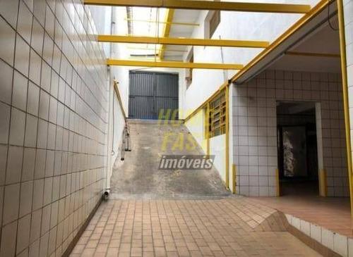 Imagem 1 de 6 de Galpão Para Alugar, 200 M² Por R$ 3.300/mês - Vila Augusta - Guarulhos/sp - Ga0378