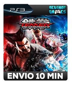 Tekken Tag Tournament 2 - Psn Ps3 - Envio Imediato