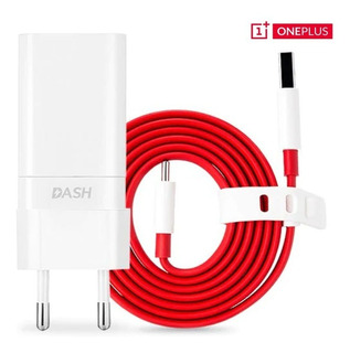 Carregador Dash Charge Original Para Oneplus 3,3t, 5,5t E 6