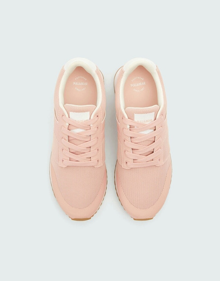 Tenis Pull And Bear Rosa 24 1/2
