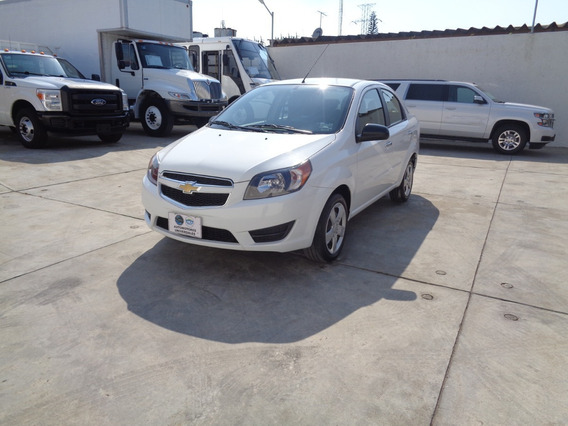 Chevrolet Aveo 1.6 Lt Mt 2018 Blanco
