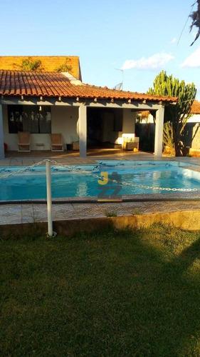 Linda Chácara Com 3 Dormitórios À Venda No Condomínio Amoreiras, 1270 M² Por R$ 480.000 - Santa Bárbara D'oeste/sp - Ch0656