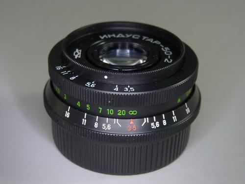 Lente Industar 50-2 M42 F3.5 50mm Carl Zeiss