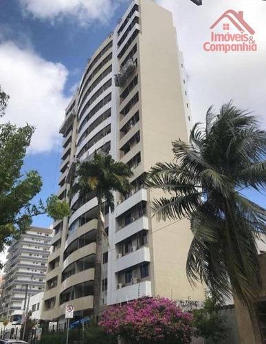Apartamento Com 3 Dormitórios À Venda, 143 M² Por R$ 630.000,00 - Aldeota - Fortaleza/ce - Ap1677
