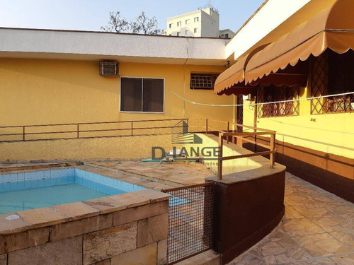 Casa Com 4 Dormitórios À Venda, 150 M² Por R$ 685.000,00 - Jardim Proença - Campinas/sp - Ca11966