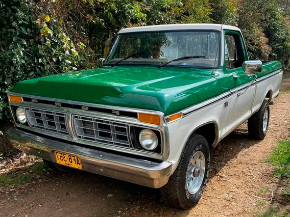 Ford F-100 Custom Cap Xlt 4x4 At Td Fe