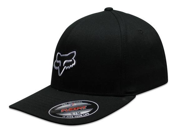 Gorra Fox Flex Fit Legacy Negro