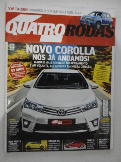 Revista Quatro Rodas N° 646 - Agosto 2013 - Frete Grátis