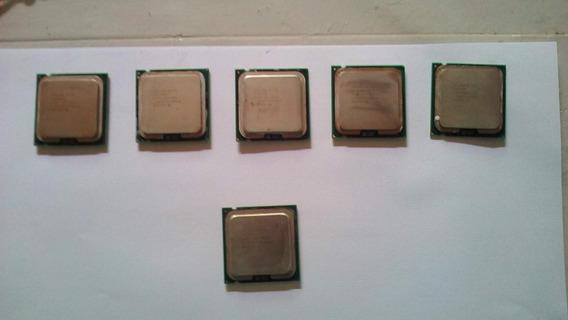 Lote Processadoes Celeron Socket 775 + Pentium 4 2.66ghz