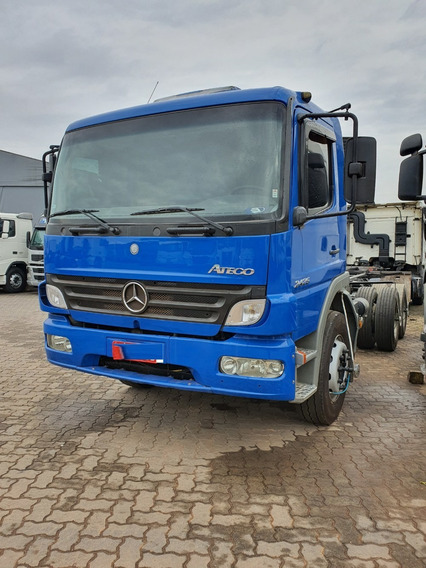 Mercedes-benz Atego Mb 2425 6x2 Chassi 2009 Financiamos