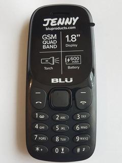 Blu Jenny J050 Celular Básico Último!!!