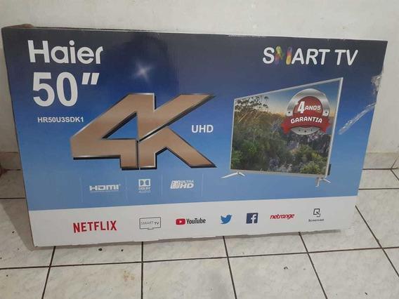 Smartv Haier 4k 50 Polegadas