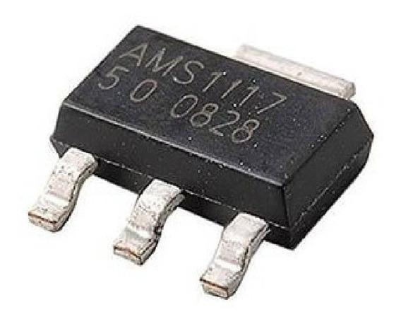 10 Und. Regulador De Tensão 5v Smd - Ams1117-5v
