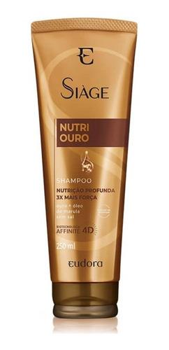 Shampoo Siàge Nutri Ouro 4d 250ml - Eudora