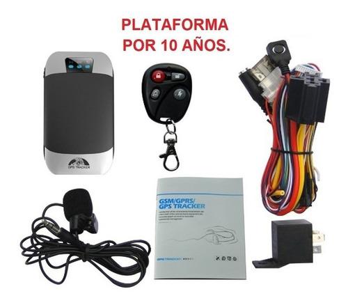 Alarma Gps Tracker  Rastreador Satelital Control Moto Carro