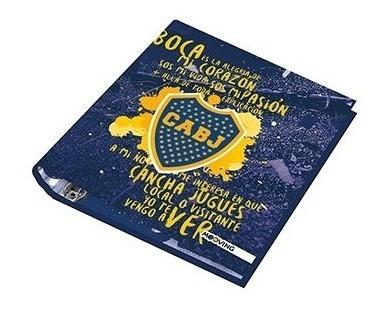 Carpeta Nº3 3x40 Boca Juniors Escolar Mooving