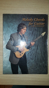 Livro Guitarra Allan Holdsworth Melody Chords For Guitar