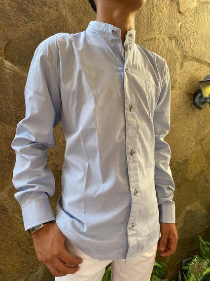 Camisa Manga Larga Semi Formal