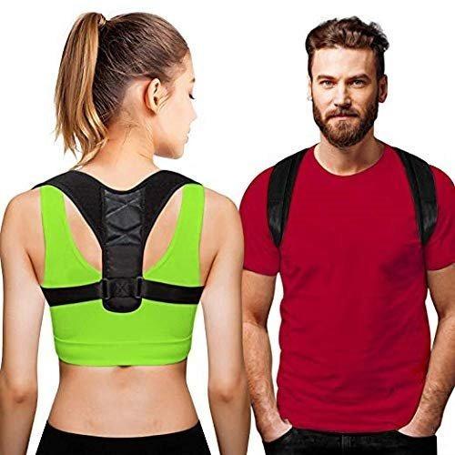 Corrector De Postura Soporte De Espalda Eficaz Comodo Unisex