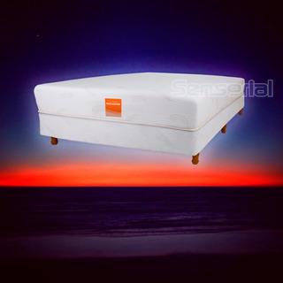 Colchón Sensorial Fit Memory Visco 50 Kg/m3 140x190+ 2 Almoh