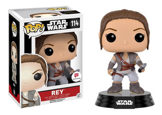 Funko Pop Rey Exclusive W 114 Star Wars En Mano ¡¡¡