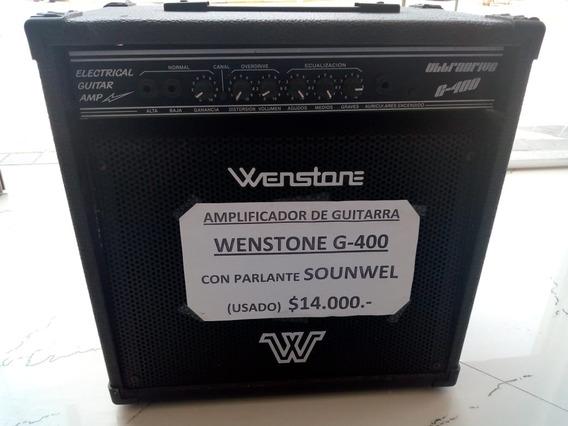 Amplificador Guitarra Wenstone G400 Con Parlante Sounwel