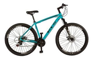 Bicicleta Aro 29 Aluminio Ez Fire Freio Disco Tamanho 17
