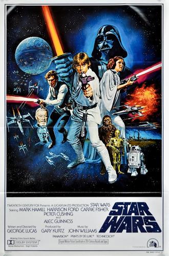 Star Wars - Posters De Pelicula - Posters Adhesivos Gigantes