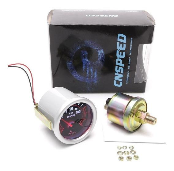 Manômetro Relógio Pressão Óleo 52mm Fusca Tl Kombi E Antigos