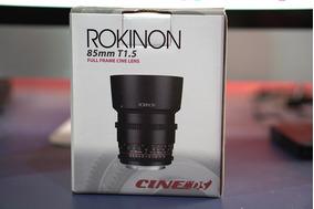 Lente Rokinon 85mm Ds E-mount Sony Fe