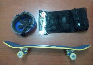 Vendo Skate Traxart Dj 073 + Proteção
