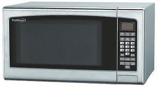 Premium Pm14011 1.4ft S.s.microwave Oven