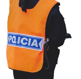 Chaleco Naranja Policial