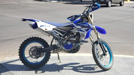 Yamaha Wr 450f Blanca / Azul /