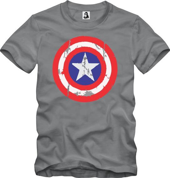 Camisa Camiseta Capitão América Marvel Captain