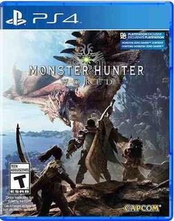 Juego Ps4 Monster Hunter World