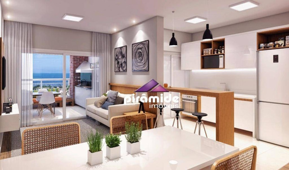 Apartamento Com 2 Dormitórios À Venda, 77 M² Por R$ 384.096,31 - Jardim Britânia - Caraguatatuba/sp - Ap10123