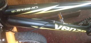 Bicicleta Venzo Bmx De Salto,sin Uso