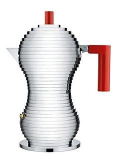 Alessi Pulcina Cafetera Espresso 3 Tazas Inducción Modelo P